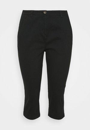 CROP  - Trousers - black