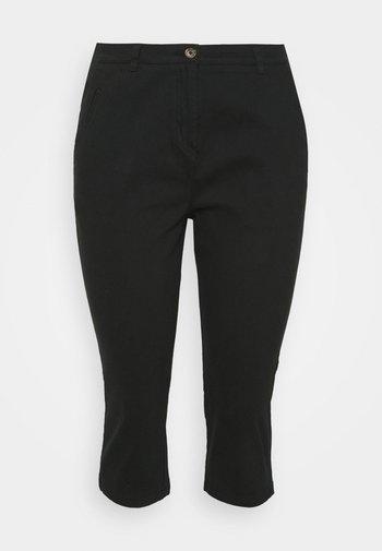 CROP  - Pantaloni - black
