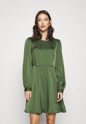 VMCOCO SHORT DRESS - Day dress - black forest