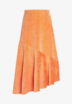 SKIRT - A-line skjørt - crushed orange