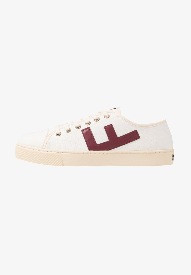 RANCHO - Zapatillas - white/burgundy/ivory