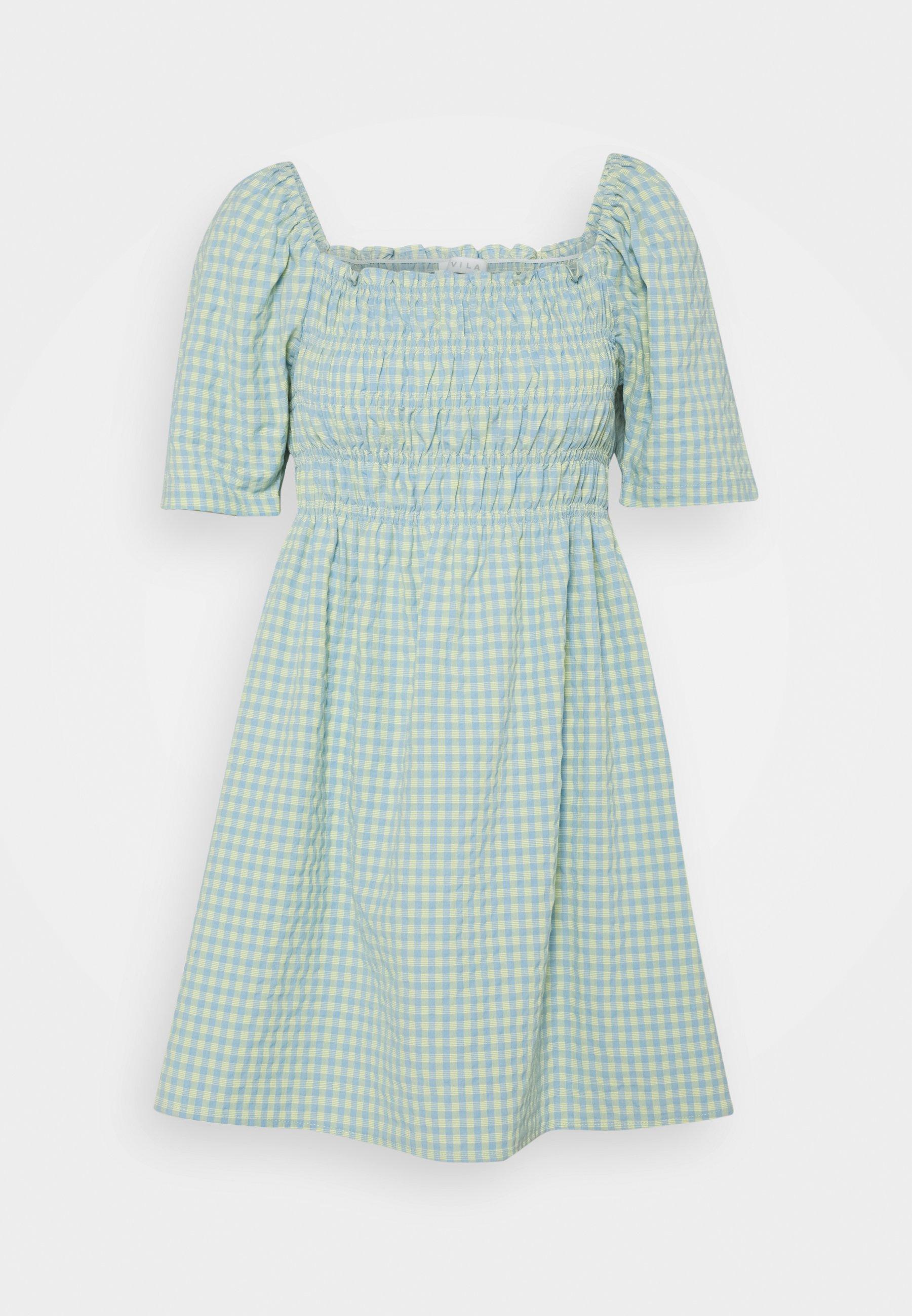 Women SMOCK SHORT DRESS - Day dress