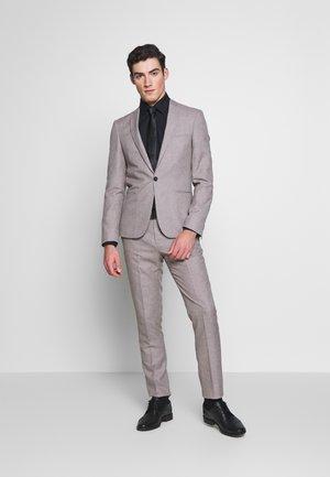 PRIZE SUIT - Kostym - stone