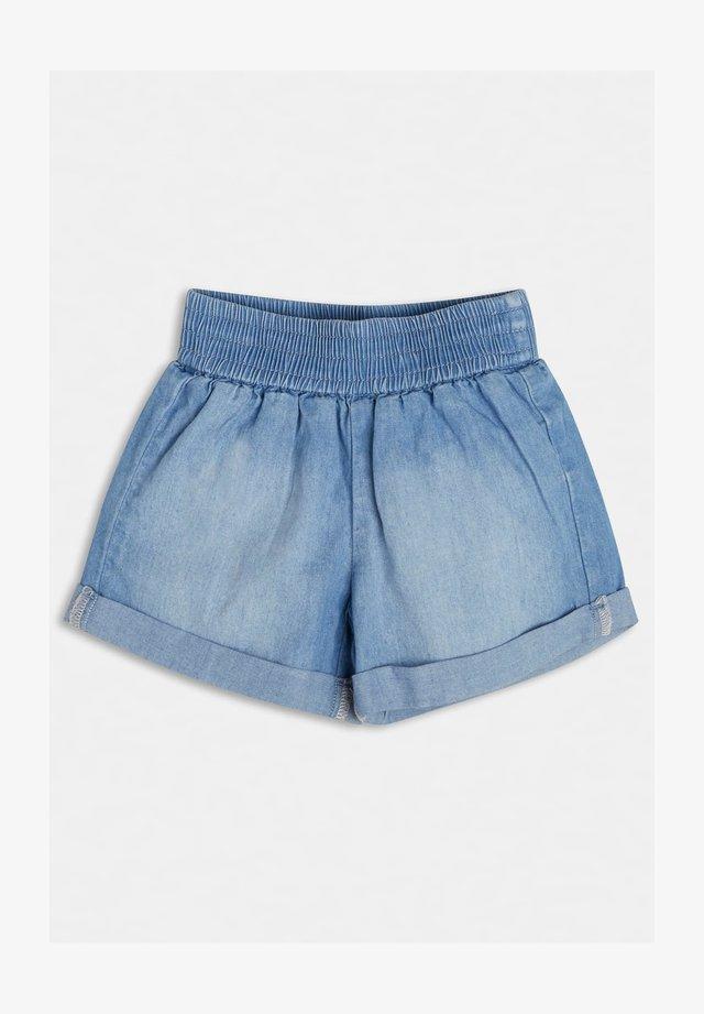 Shorts di jeans - blau