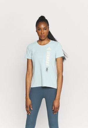 TEE - T-shirts med print - mint