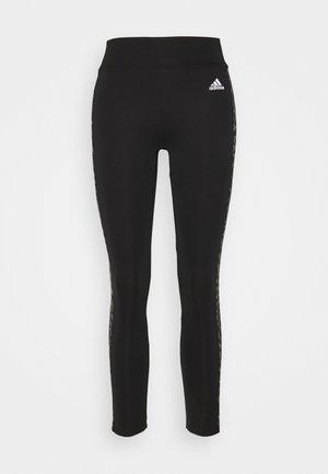LEO - Leggings - black/grey four