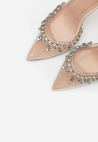 BEBO - RASSEL - High heels - clear/nude