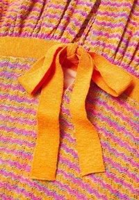 Mango - FAIRY - Strikket kjole - orange - 5