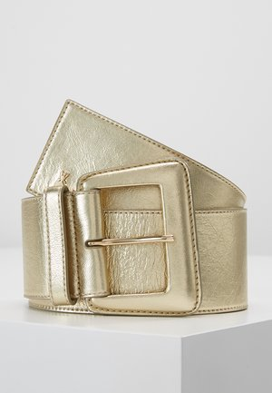 CINTURA VITA ALTA  - Waist belt - platinum