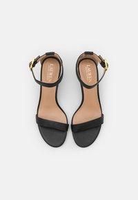 Lauren Ralph Lauren - WAVERLI - Sandals - black - 4