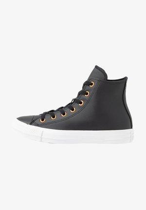 CHUCK TAYLOR ALL STAR - Zapatillas altas - black/gold/white