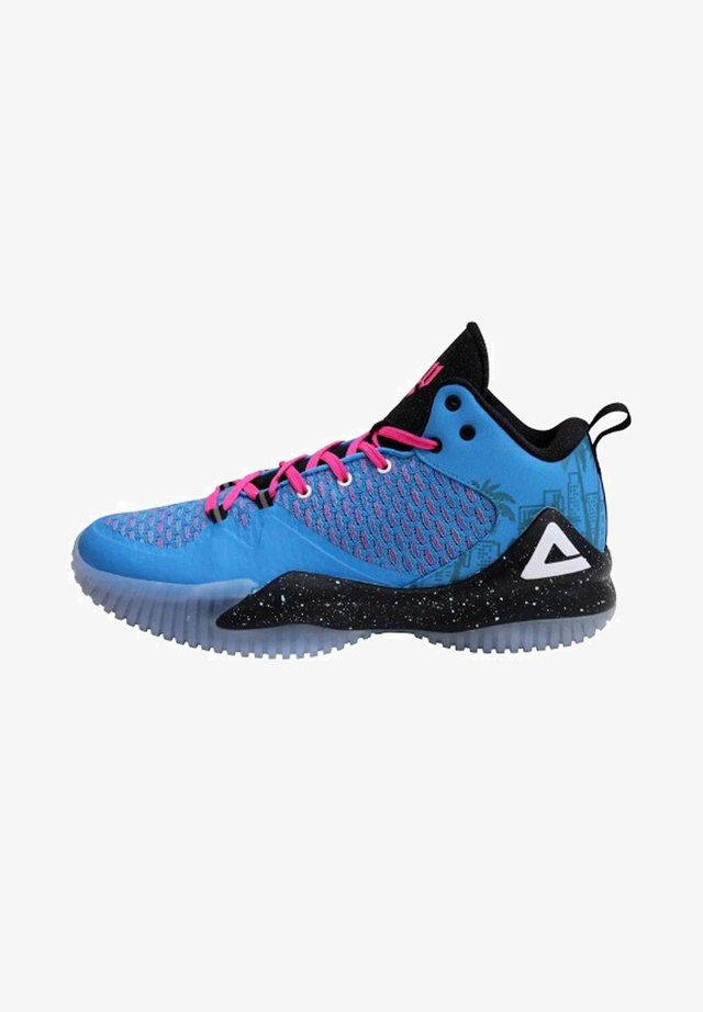 LOU WILLIAMS - Basketball shoes - hellblau rosa
