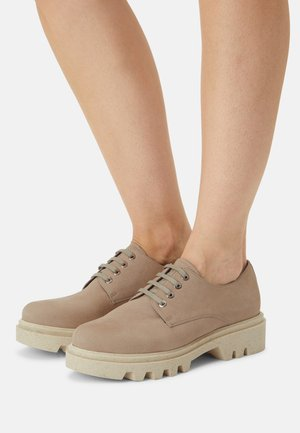 ROBIN - Lace-ups - taupe
