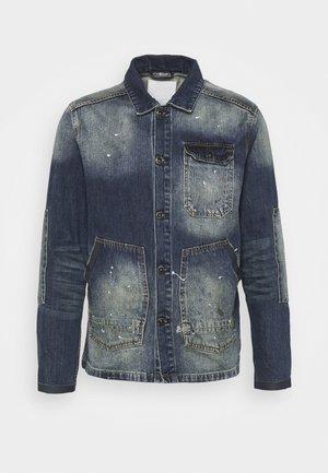 E-WORKER JACKET  - Denim jacket - blue