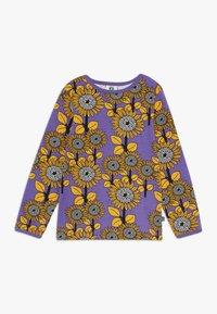 Småfolk - SUN FLOWERS - Langærmede T-shirts - purple heart - 0