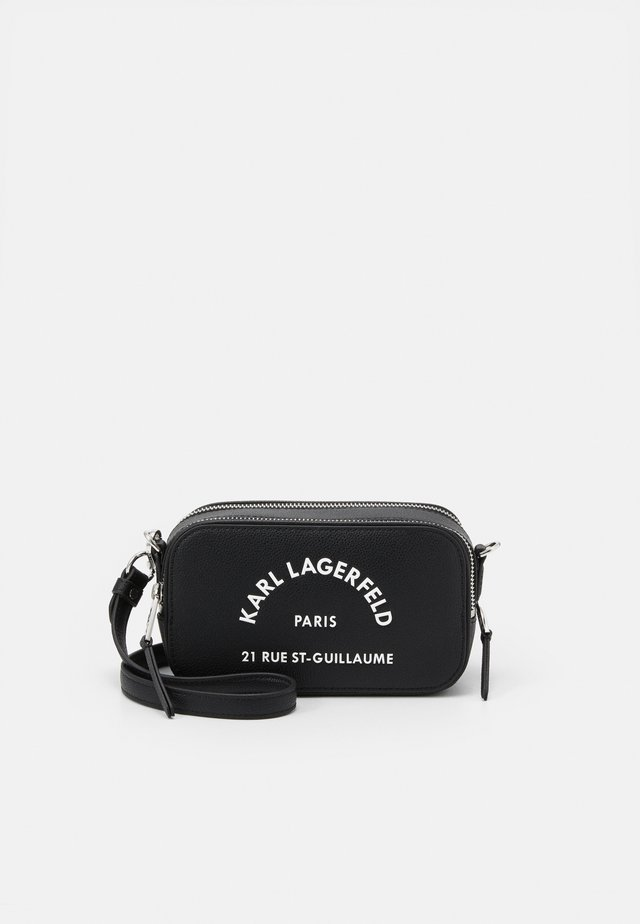 GUILLAUME CAMERA BAG - Sac bandoulière - black