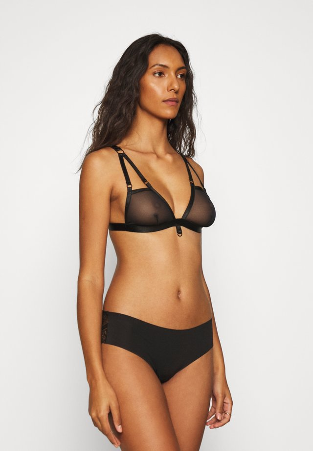 EVERY NIGHT RING BRA - Triangel BH - black