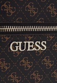 Guess - MANHATTAN BACKPACK - Plecak - brown - 5
