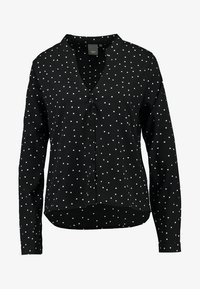 ICHI - VERA - Button-down blouse - black - 3