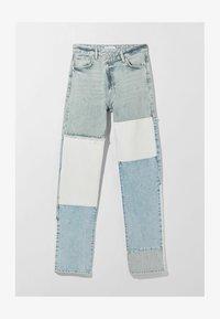 Bershka - Straight leg jeans - light blue - 4