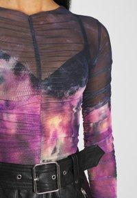 Topshop - TIE DYE RUCH  - Long sleeved top - multi - 6