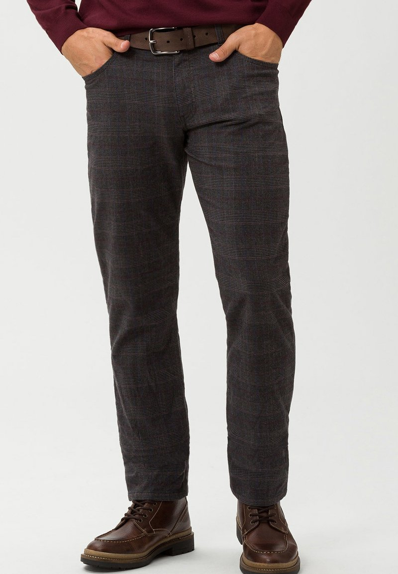 BRAX - STYLE COOPER - Stoffhose - dark grey
