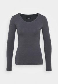 Zign - Long sleeved top - mottled grey - 4