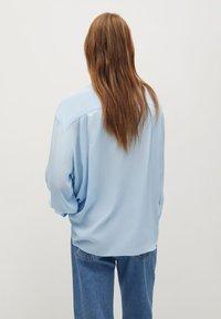 Mango - LIARA - Button-down blouse - bleu - 2