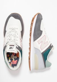 New Balance - ML574 - Sneakers - grey/green - 1