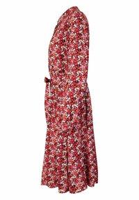 Lieblingsstück - MILLEFLEUR - Shirt dress - burgund - 3