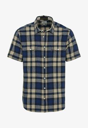 KURZARM - Shirt - indigo