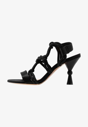 APPENDE - High heeled sandals - black