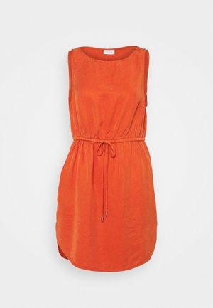 VIOLENNA LISTI DRESS - Denní šaty - burnt ochre