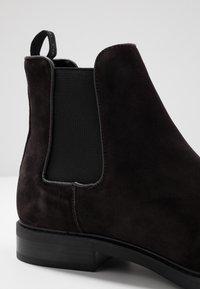 Calvin Klein - FINTAN CHELSEA - Nilkkurit - dark brown - 5