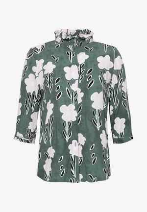 VEDA - Button-down blouse - khaki