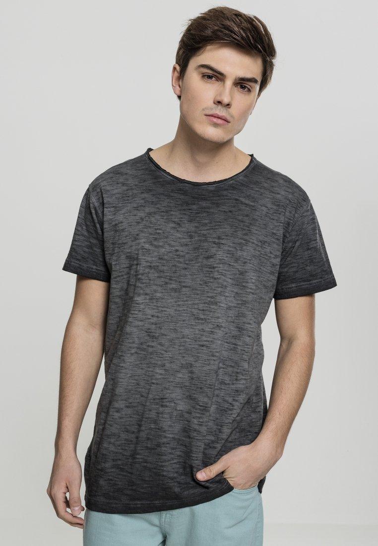 Uomo COLD DYE SLUB TEE - T-shirt con stampa
