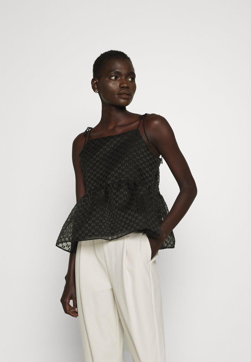 Bruuns Bazaar - DITTANY LENNY  - Top - black