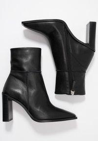 Topshop - HERO BOOT - Kotníková obuv na vysokém podpatku - black - 3
