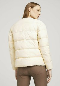 TOM TAILOR DENIM - KRAGENLOSE  - Winter jacket - blazed beige - 2