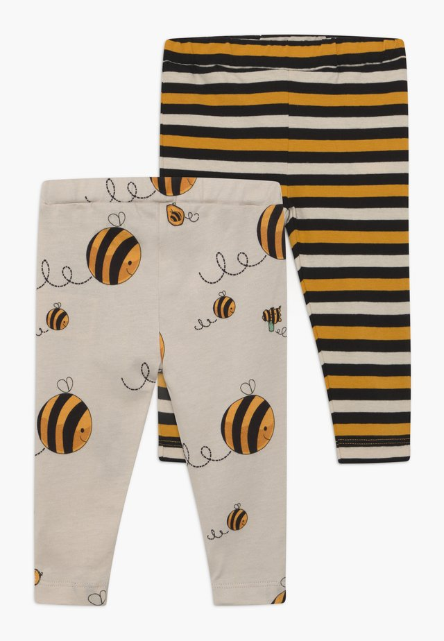 CROPPED STRIPE AND BEE KIND 2 PACK - Legging - multi-coloured