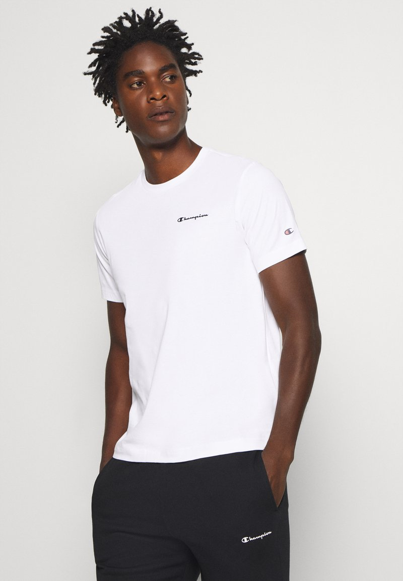 Champion - LEGACY CREWNECK - T-Shirt basic - white