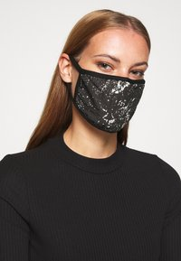 Icon Brand - PATTERNED COMMUNITY MASK - Community mask - black - 2