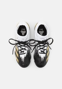 adidas Performance - PREDATOR 20.3 FOOTBALL BOOTS TURF UNISEX - Astro turf trainers - footwear white/gold metallic/core black - 3