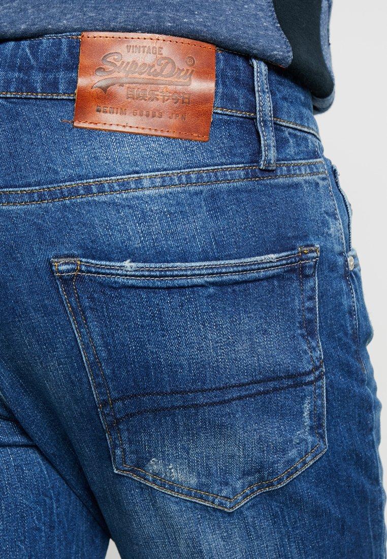 Superdry CONOR - Jeans fuselé - berkeley blue used