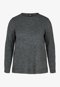 Zizzi - Jumper - dark grey - 3
