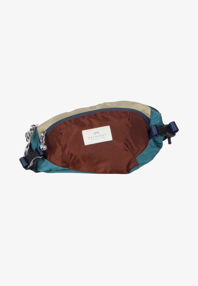 SEATTLE  - Bum bag - teal x maroon