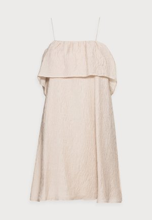 OBJALVILDA MINI DRESS - Kjole - sandshell