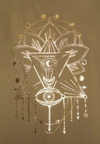 ONLY - ONLCARIN LIFE  - Camiseta estampada - martini olive - 4