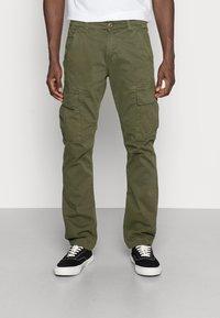 Alpha Industries - Cargo trousers - dark oliv - 0