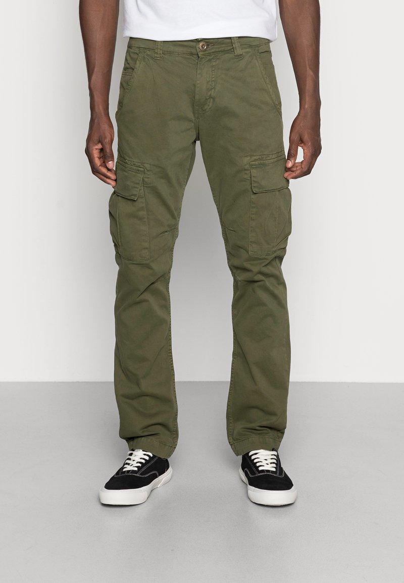 Alpha Industries - Cargo trousers - dark oliv